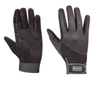 Everyday Suede Leather Riding Gloves