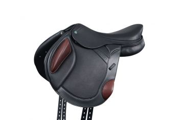 Monoflap Covered Leather Event Saddle