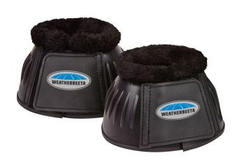 Fleece Trim Rubber Bell Boots