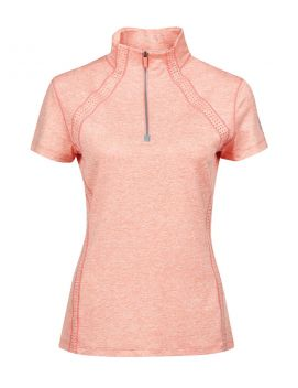 Maddison Short Sleeve Technical Airflow 1/4 Zip Top