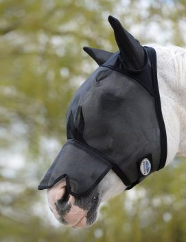 Fly Mask With Nose