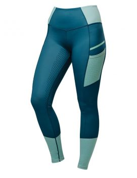 Power Tech Colour Block Full Grip Training Tights