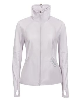 Lucinda Full Zip Technical Visibility Top