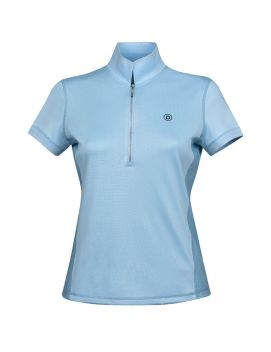 Evelyn 1/4 Zip Short Sleeve Technical Airflow Training Polo