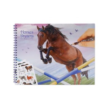 Horses Dreams Colouring/Activity Book