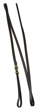 Leather Lead With Brass Buckle