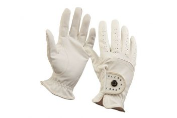 Diamante Patent Dressage Riding Gloves