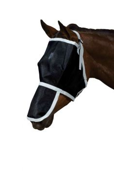 Buzz Away Fly Mask With Nose