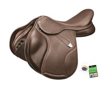 Elevation + Saddle With Luxe Leather Deep Seat Rear Flexibloc & Cair