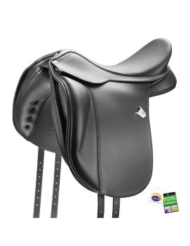 WIDE DRESSAGE SADDLE WITH CAIR
