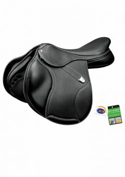 Elevation + Saddle With Luxe Leather Rear Flexibloc & Cair
