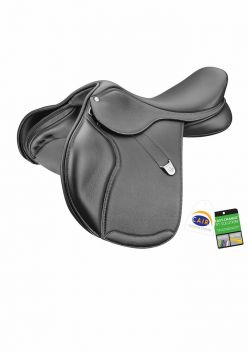 Pony Elevation + Saddle With Luxe Leather & Cair