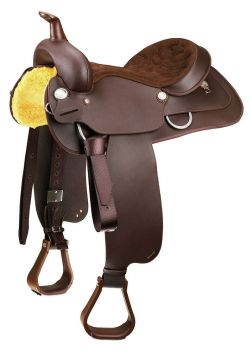 Western All Rounder Saddle With Full Qh Bars