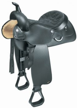 Western All Rounder Saddle With Semi Qh Bars