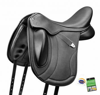 Innova Mono + Saddle With Luxe Leather Short Flap & Cair