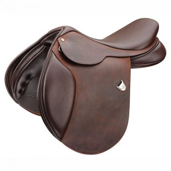 Caprilli Close Contact Saddle With Heritage Leather & Cair