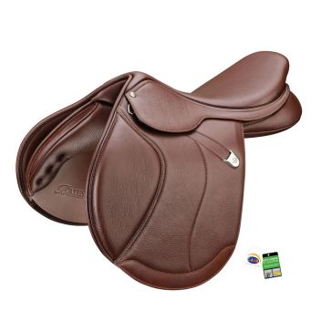 Caprilli Close Contact+ Saddle With Forward Flap Rear Flexibloc & Cair
