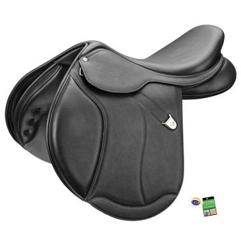 Caprilli Close Contact+ Saddle With Luxe Leather Forward Flap Rear Flexibloc & Cair