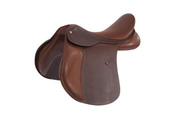 Scholar All Purpose Saddle With Round Cantle