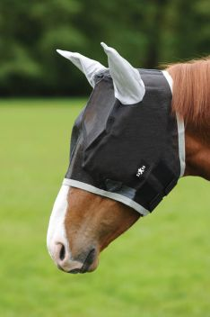 Buzz Away Fly Mask With Ears