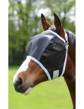 Buzz Away Fly Mask With Fleece