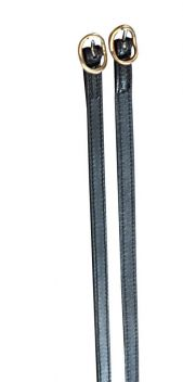 Leather Spur Straps With Brass Buckles