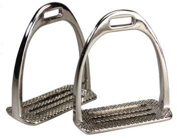 Nickel Plated Four Bar Stirrup Irons