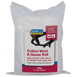 Cotton Wool/Gauze Roll 250Gm 15Cm X 3M